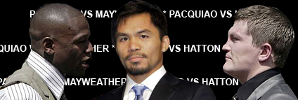 pacquiao hatton mayweather Pacquiao versus Hatton Match Updates, Results and News