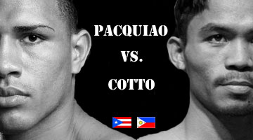 Pacquiao vs cotto super bout with kenny bayless as the third man